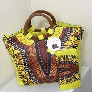 Gorgeous yellow tote bag